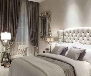 bed, bedroom, and classy image