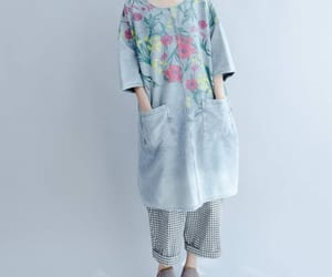 blouses, etsy, and flower dress image
