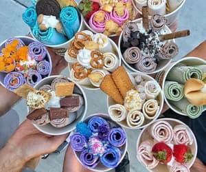 comida, gelato, and helado image