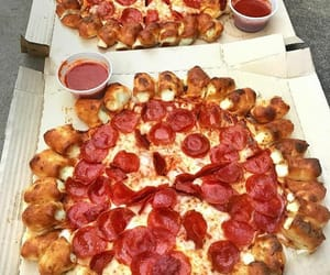 pizza, food, and foodie image