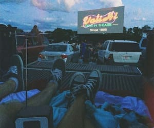 couple, grunge, and car image