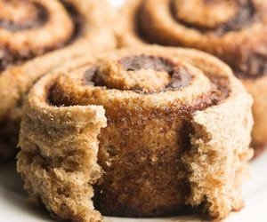 cinnamon roll, Cinnamon, and dessert image
