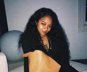 black hair, girls, and night image