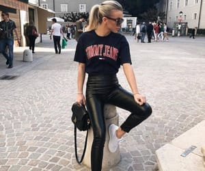 black, jeans, and tommy image