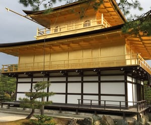 japan, Temple, and yellow image