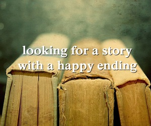 book, end, and happy image