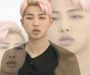 bts, rm, and meme image