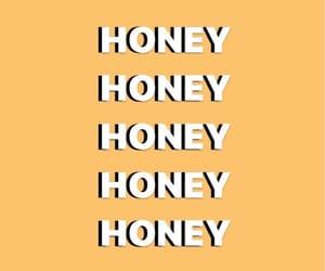 honey, wallpaper, and yellow image