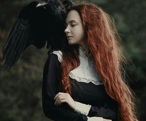 ginger, raven, and witch image