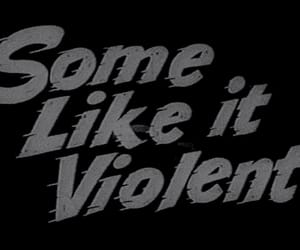 violent, black and white, and quotes image