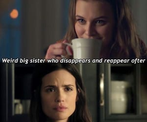 pll, polly cooper, and melissa hastings image