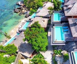 holidays, resort, and summer image