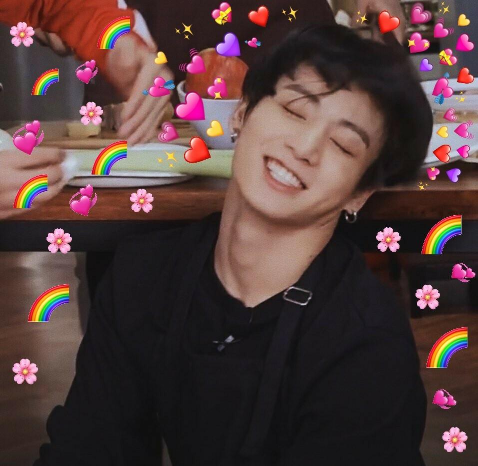Jungkook Heart Meme On We Heart It
