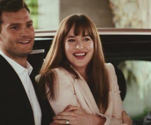 couple, christian grey, and love image