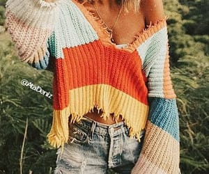 spring, summer holiday, and sweater image