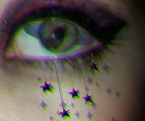 aesthetic, eyes, and saturn eye image