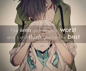 anime, anime sad, and anime quotes image