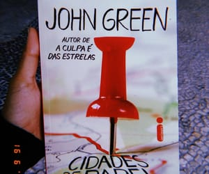 book, livro, and jonh green image