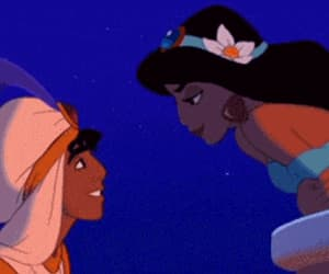 love, disney, and aladdin image