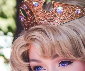 crown, disneyland, and princess image