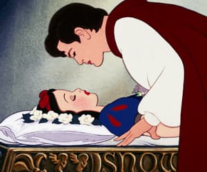 disney, kiss, and snow white image