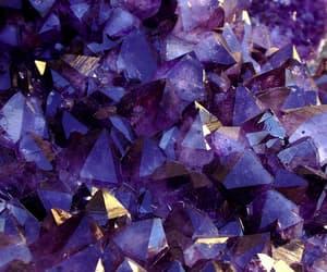 amethyst, magic, and purple image