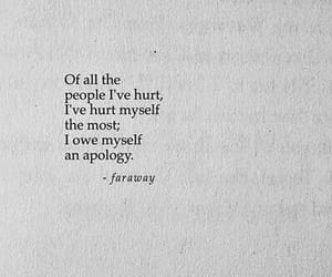 hurt, quotes, and apology image