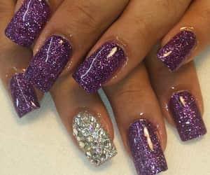 makeup+beauty, style+stil+estilo, and nail+fake nails image