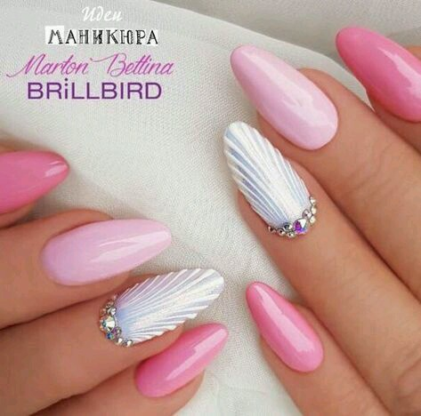 Nail Art Mermaid Nails Discovered By Alice Of Hearts