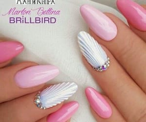 mermaid nails image