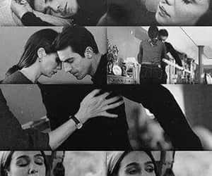 amour, Turkish, and siyah beyaz ask image