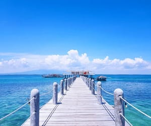 beach, Philippines, and travel image