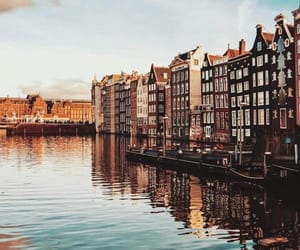 amsterdam, canals, and dutch image