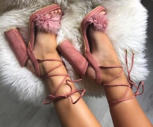 pink, cute, and shoes image