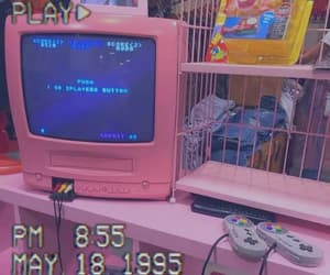 pink, retro, and aesthetic image