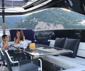 italy, yacht, and vacay image