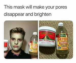 facial, skincare, and clay mask image