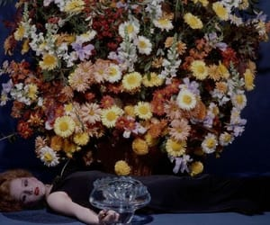 flowers, guy bourdin, and multicolour image