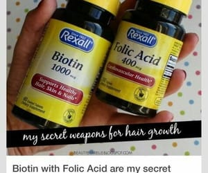 supplements, hair growth, and biotin image