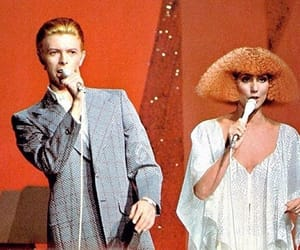 david bowie and cher image