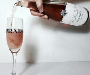 Prada, drink, and wine image