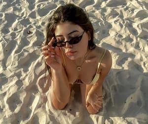 areia, beach, and brasil image