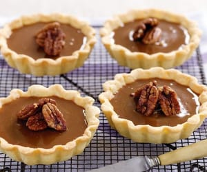 caramel, tart, and pecan image