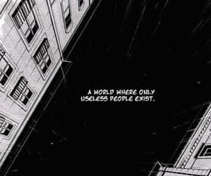 manga, sad, and Useless image