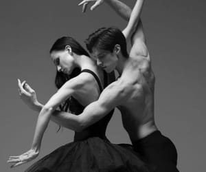 b&w, ballerina, and ballet image