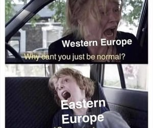europe, funny, and western image