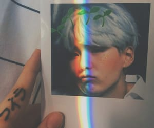 bts, suga, and aesthetic image