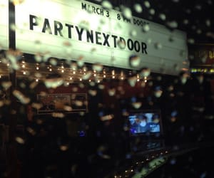 partynextdoor, dope, and rain image