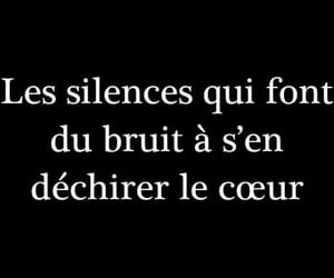 quote, french, and heart image