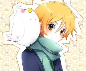 anime, boy, and mochi image